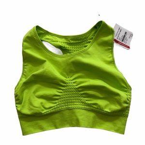 NWT Sweaty Betty Lime Green Sports Bra Med